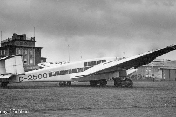 Junkers D-2500 im Oktober 1932 in Chemnitz