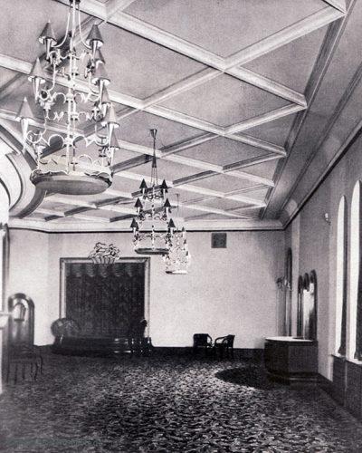 Foyer im Oberrang