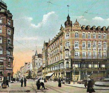 Das Modehaus nach dem 1. Weltkrieg