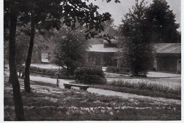 die Anlage um 1925