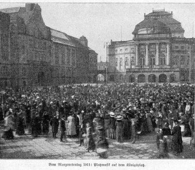 Platzmusik auf dem Königsplatz