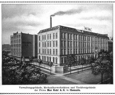 Ansicht um 1915