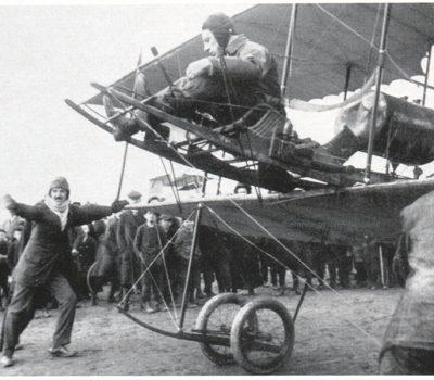 Otto Lindpaintner am Start