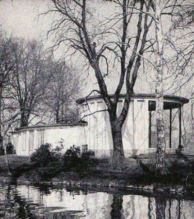 Der Pavillon von hinten (Bildquelle Steffen Nebelung)