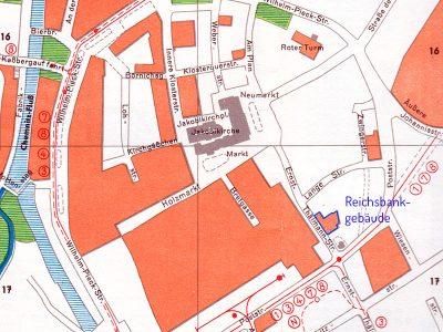Noch im Stadtplan um 1960 zu finden