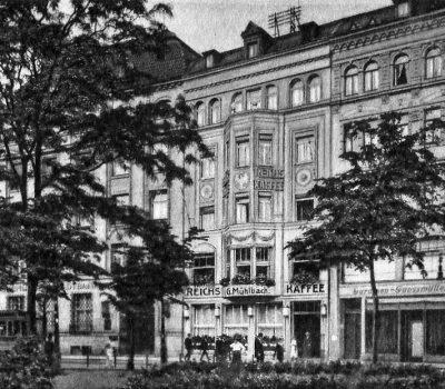 Poststraße 19 - Ansicht 1917
