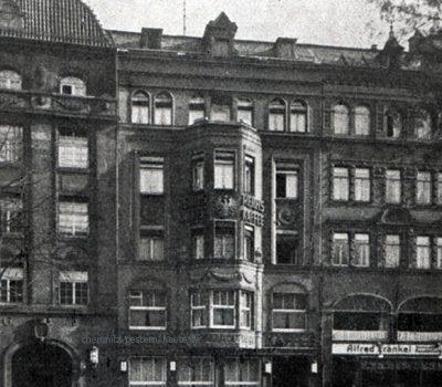 Poststraße 19 - Ansicht 1929