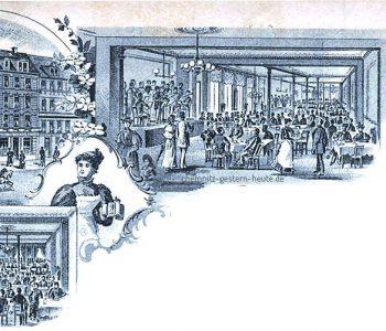 Neue Reudnitzer Bierhallen 1895-1902