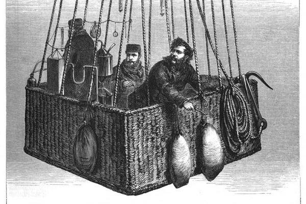 Die Fahrt in den Tod mit seinen Mitstreitern 1875
