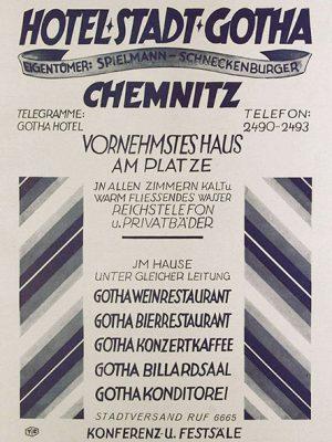 Werbung um 1933