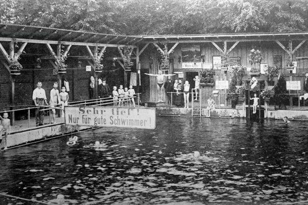 Ansicht um 1906