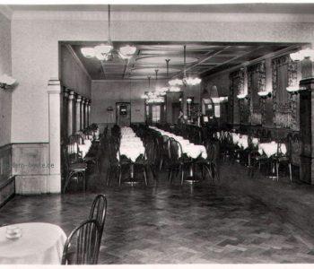 Inneneinrichtung des Tanzkaffees Europa um 1940