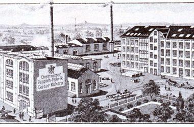 Das Areal um 1910