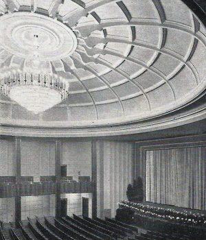 Innenraum nach Rekonstruktion 1935