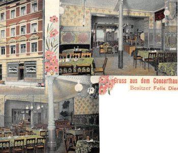 Restaurant Walhalla ab 1902